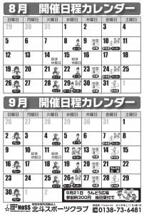 8・9 日程